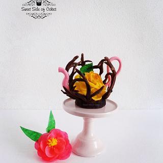 The Enchanted Rose Tea - A Sugar Artists Tea Party Collaboration