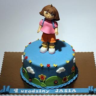 Dora the Explorer Bday Cake