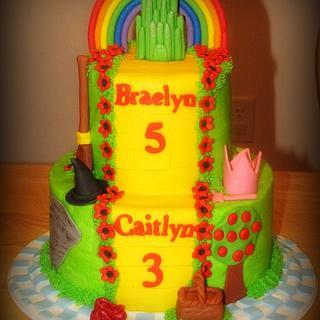 Wizard of oz Cake - Cake by Deborah