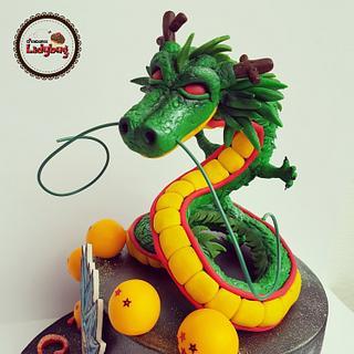 Shenglong fondant - Cake by Creaciones Ladybug
