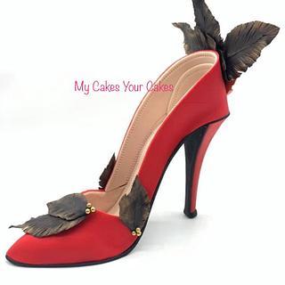 Fancy sugar shoe!