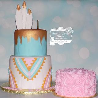 Wild One  - Cake by Sugar Sweet Cakes