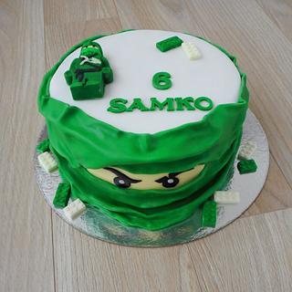 Lego inspiration  - Cake by Janka