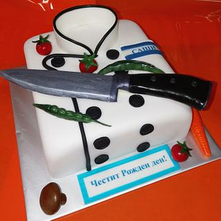 Cake for a master Chef