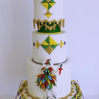 Mardi  Gras- Carnival Cakers Collaboration