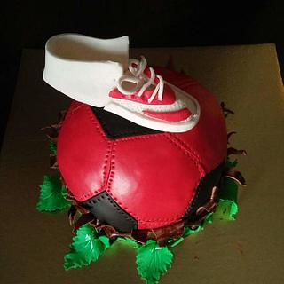In love with Football  - Cake by cakebusters