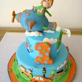 Vehicles Cake! - Cake by Tiziana Inn