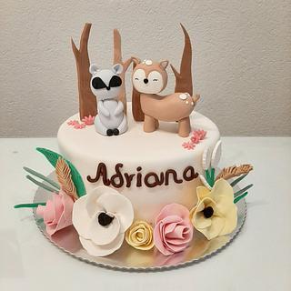 😍😍 - Cake by Azra Cakes