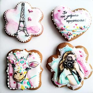 Best friend's cookies - Cake by Tanya Shengarova