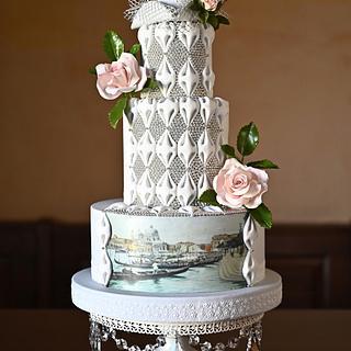 Venice Carnival collaboration - Cake by Veronica Seta