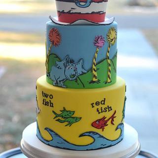 Dr. Seuss Cake