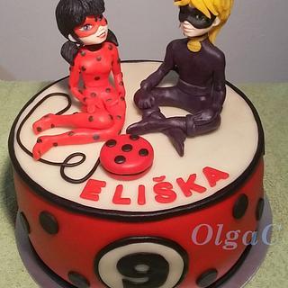 Miraculous - Cake by OlgaC