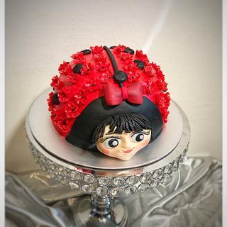 Ladybag cake