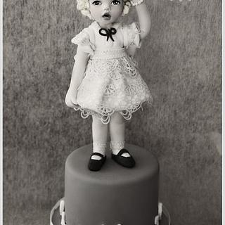 Shirley Temple - Cake by La Belle Aurore