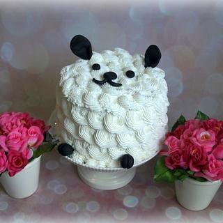 Lamb-y (smash cake).