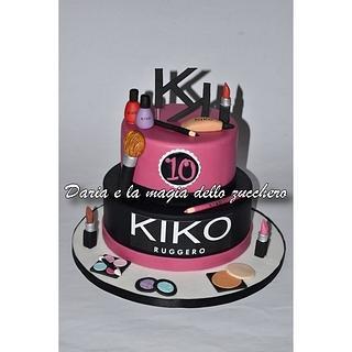Make up Kiko cake