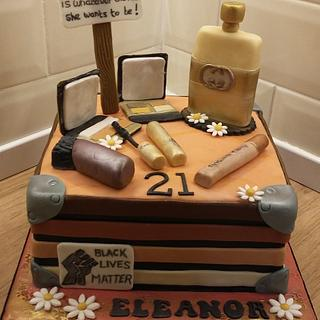 Beauty and Justice cake
