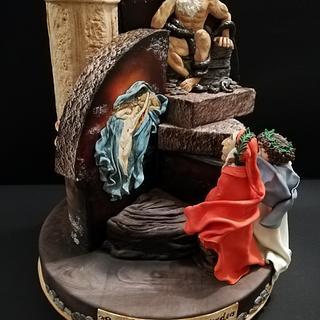 """Piacer sì forte"" - Cake by Angela Natale"