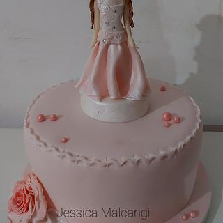 Princess Agnese Cake - Cake by JMCakeLab