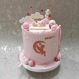 New baby cake - Cake by Gabby's cakes