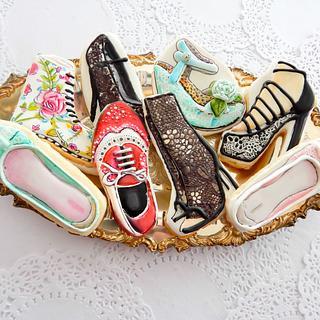 Sugarveil Sugar Shoe Cookies