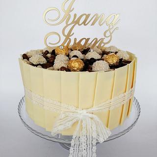 Mr&Mrs cake