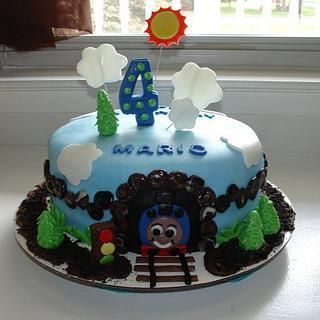 Thomas the Train - Cake by Karen Hearty