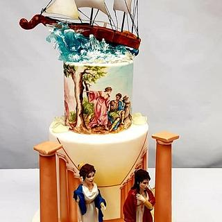 Dido and Aeneas - Cake by Emma