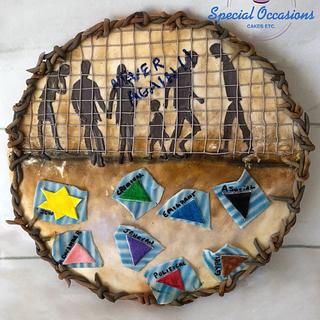 CPC Collaboration - Remembering Auschwitz - Lost Souls  - Cake by Special Occasions - Cakes, Etc