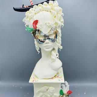 Venezia in Maschera - Cake by Romina Novellino