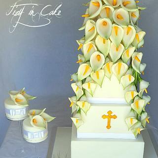 calla lily cake - Cake by Tiziana Cardillo