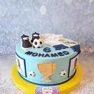 Real Madrid cake by Arty cakes