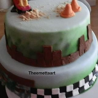 Chuck cake for a 2 yr old
