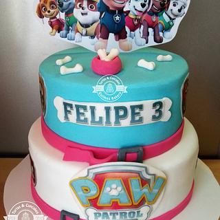 Torta Paw Patrol Cake - Cake by Tortas y Cupcakes Bakery