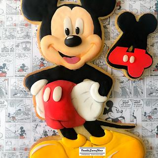 «Mickey» giant cookie