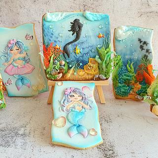 Seabed cookies - Cake by Reni_D