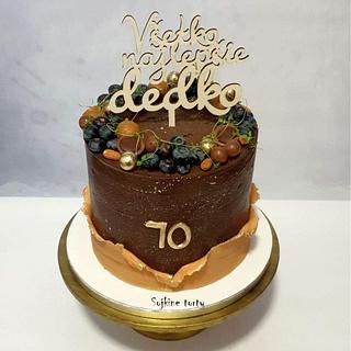 Chocolate cake - Cake by SojkineTorty
