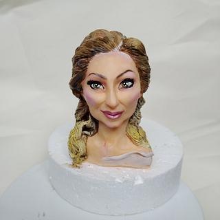 Portrait - Cake by Tanya Shengarova