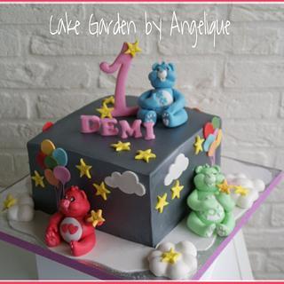 Care Bears Cake - Cake by Cake Garden