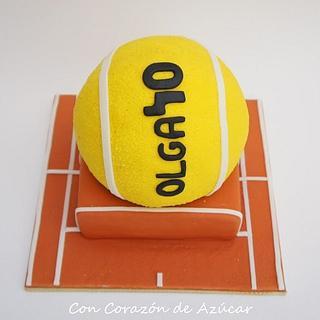 Tennis Cake, Spherical cakes step by step - Tarta Tenis, Paso a paso tartas esféricas
