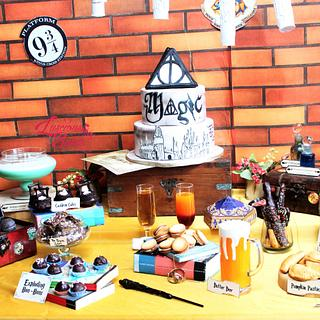 PDCA Dessert Table Collaboration- Harry Potter