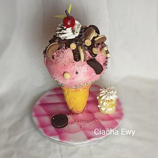 ice cream cake 3 d