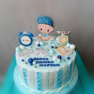 Baby welcome cake  - Cake by Tsanko Yurukov
