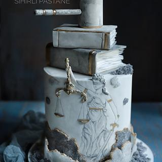 Lady Justice Cake - Cake by Sihirli Pastane