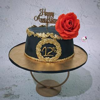 Black & Gold - Cake by Sayantanis Culinary Delight