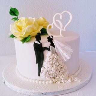 Wedding silhouettes