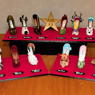 "The Peter Jackson Sugar Stiletto Collection ""Cakes from Middle Earth"""