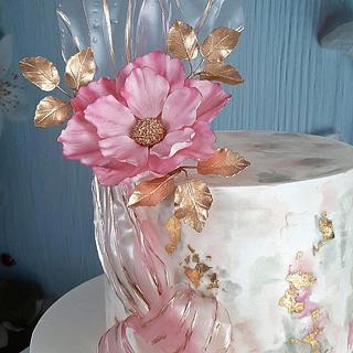 Cake for mom - Cake by Couture cakes by Olga
