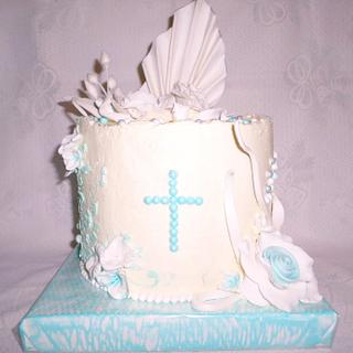 First Communion - Cake by Édesvarázs