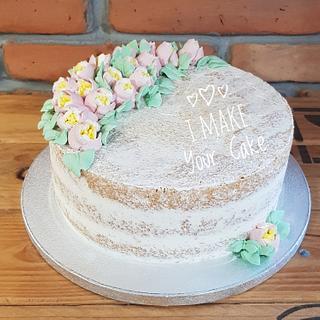 Simply chiffon cake